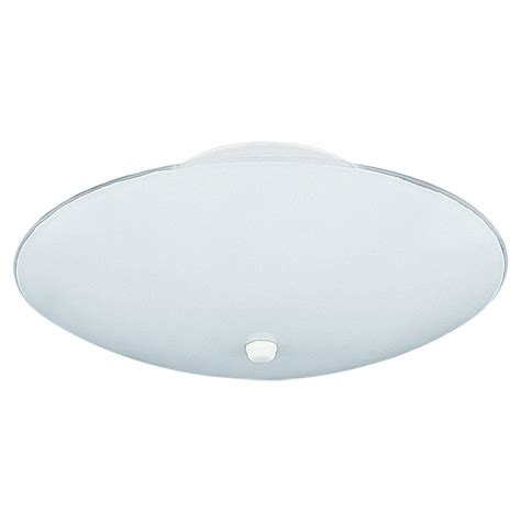 sea gull lighting 3 light white ceiling fixture the home