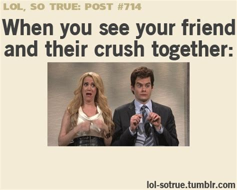 4 Posts That Will You Seeing by When You See Your Friend And Their Crush Together