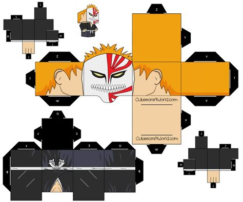 Papercraft Figures - 255 best images about cubee cubes figures on