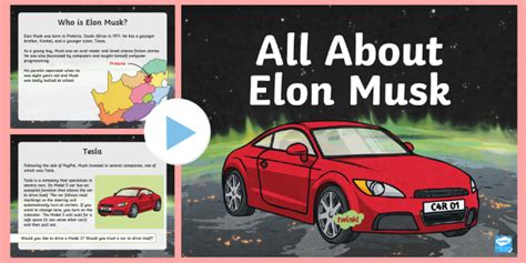All About Elon Musk Powerpoint Tesla Paypal Space Spacex Spacex Powerpoint Template