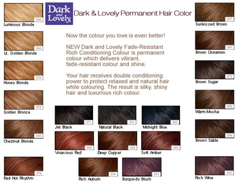 dark lovely hair color chart the store for afro caribbean food hair beauty products