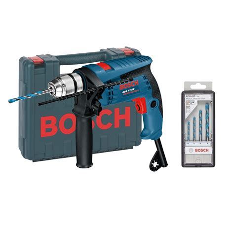 Bosch 13 Re bosch gsb 13 re 600w impact percussion drill in carry
