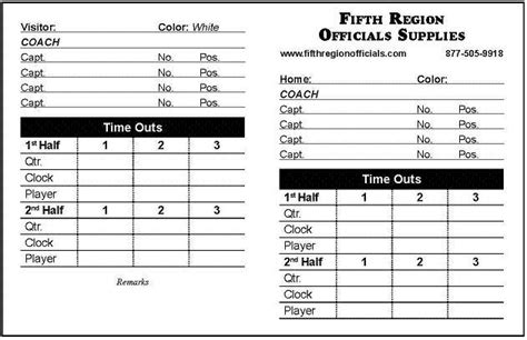 referee match card template referee equipment football referee data cards