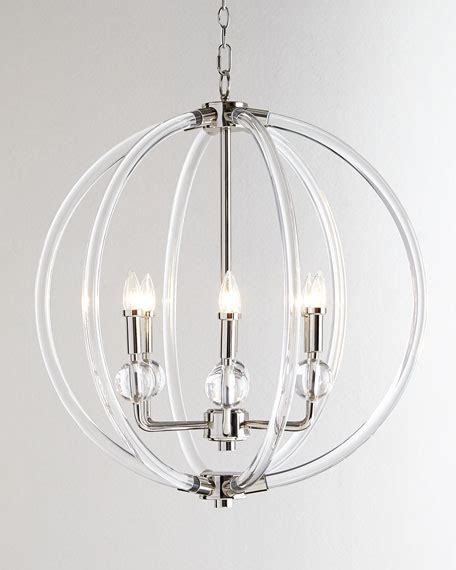 acrylic pendant light acrylic silver 6 light pendant
