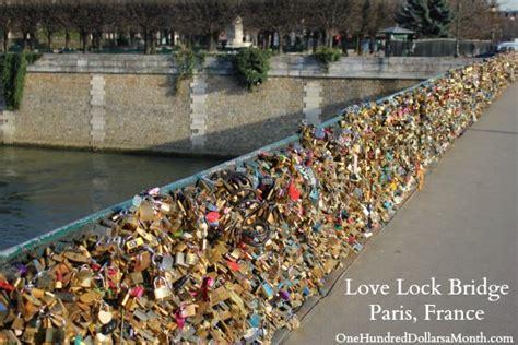 images of love lock bridge love lock bridge paris france one hundred dollars a month
