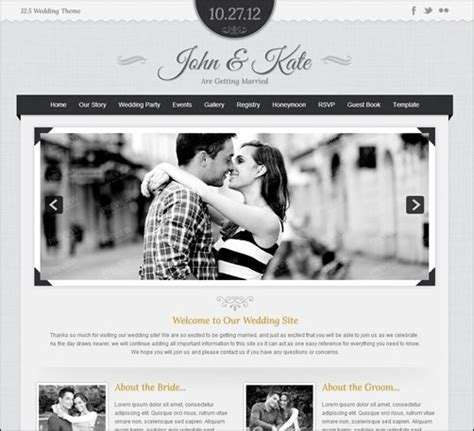 15 Wedding Templates Free And Premium Bcstatic Com Joomla Wedding Template