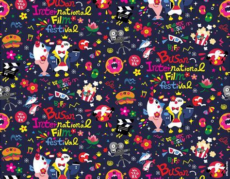 pattern character in c fun fun character pattern design 5 디지털 아트 일러스트레이션