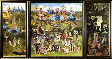 Garden Of Earthly Delights by Wolfe Lenkiewicz Hieronymous Bosch Volt Caf 233 By