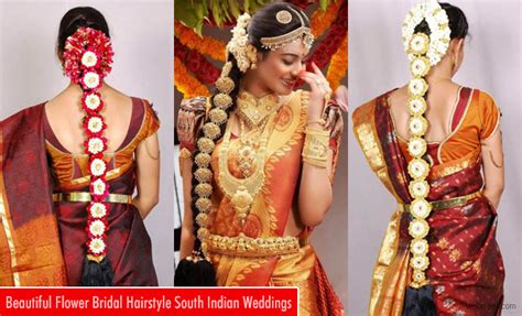 Indian Bridal Hairstyles With Flowers by Webneel Graphic Design Inspiration Photography 3d