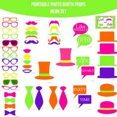 sweet 16 on pinterest | photo booth props, photo booths