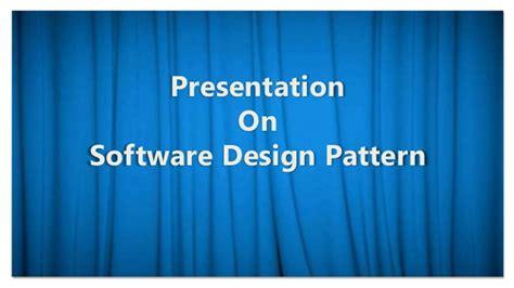 master pattern design software observer software design pattern