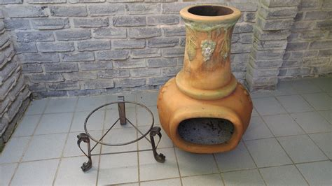 Terra Cotta Chiminea by Terra Cotta Chiminea Large Secondhand Pursuit