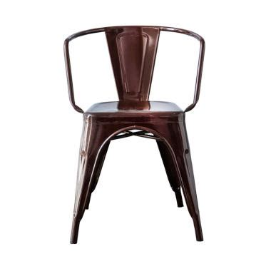 Olive House Metal Chair jual the olive house decafe metal chair brown
