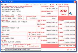 Irs Section 72 by 1099 K User Interface Irs Sec 6050w Compliance Payment