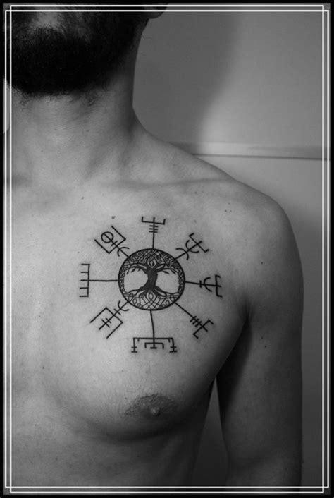 vegvisir tattoo placement best 25 yggdrasil tattoo ideas on pinterest viking