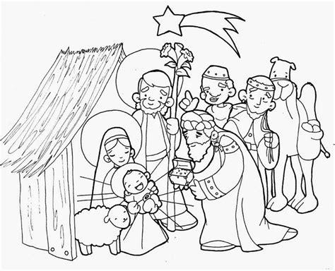 imagenes para colorear acerca de la navidad para colorear nacimiento de jes 250 s para colorear