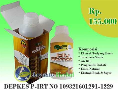 Qnc Jelly Gamat 300ml qnc jelly gamat isi 300ml