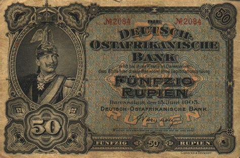 german for bank banknote index ostafrikanische bank