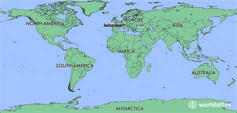 switzerland map in world map where is switzerland where is switzerland located in