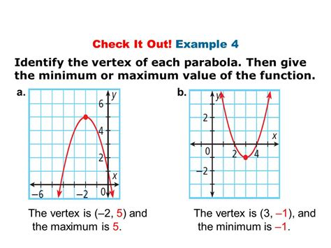objectives identify quadratic functions and determine