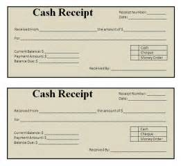 Template For Receipts by Receipt Templates Free Word S Templates