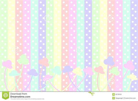 imagenes flores simples pastel colors puntos y rayas en colores pastel de polca