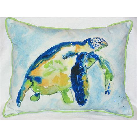 Turtles Pillows by Blue Sea Turtle Indoor Outdoor Pillow D 233 Cor Shop