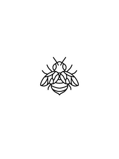 simple tattoo flash best 20 bee ideas on bumble bee
