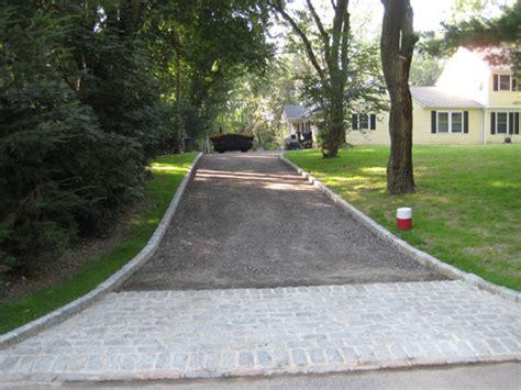 big half circle driveway asphalt paving blacktop driveways