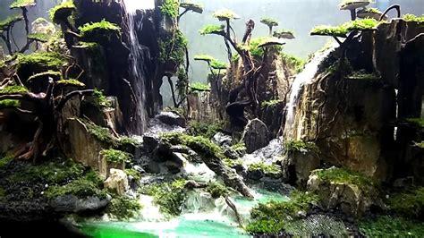 aquascape youtube waterfall fantasy aquascape youtube