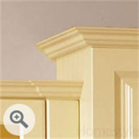 Kitchen Cupboard Cornice - accessories and extras to match new kitchen cabinet doors