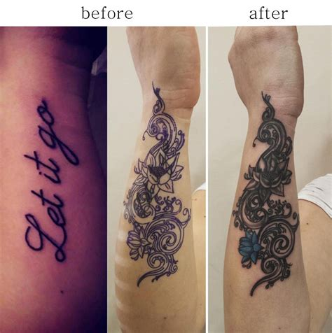 Cover Up Letter Tattoos cover up goldentouchtattoo