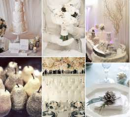 Winter Wonderland Decorations To Make - french style winter wedding ideas the good life france