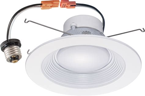 can light trim kits downlight trim 5 6 inch 16w led recessed dimmable retrofit