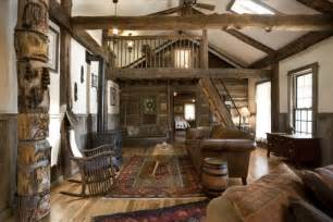 Gallery for gt beautiful log cabin interiors