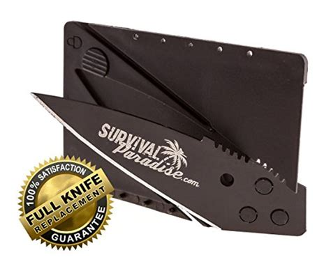 Ready Pisau Outdoor Automatic Folding Knife 3 In 1 Multifungsi credit card knives