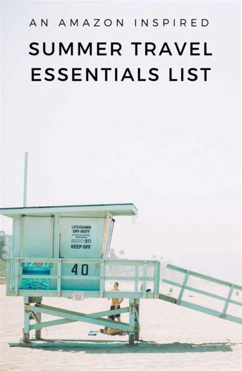 amazon travel essentials your amazon summer essentials packing list there she