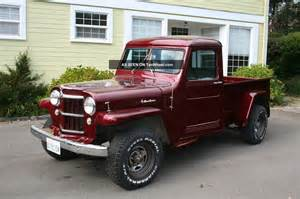 Willys Jeep Truck 1955 Willys Truck 4wd Paint Interior Some