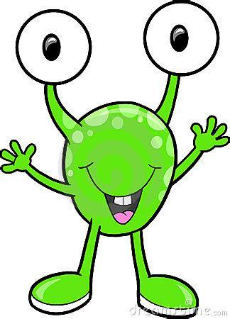 cute alien clipart