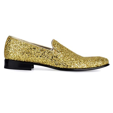 sparkly slippers slippers uomo glitter gold 1491 louis keyton shoes