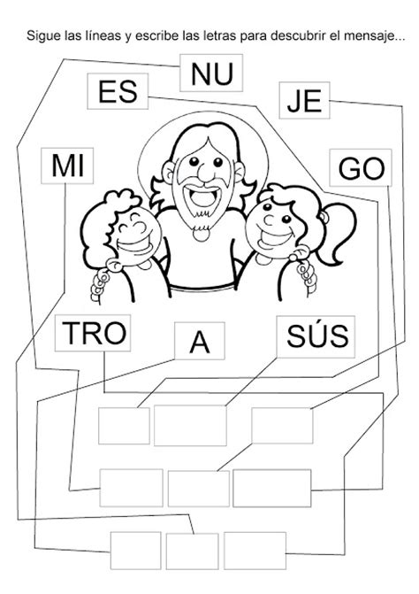 imagenes para colorear jesus y los niños la catequesis el blog de sandra dibujos para colorear