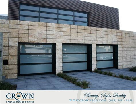 Aluminum And Glass Garage Doors Aluminum Glass Garage Doors Crownsgd