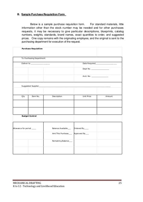 Technology Request Form Template