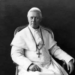 Pope pius x was one of a few other popes who had visions of the