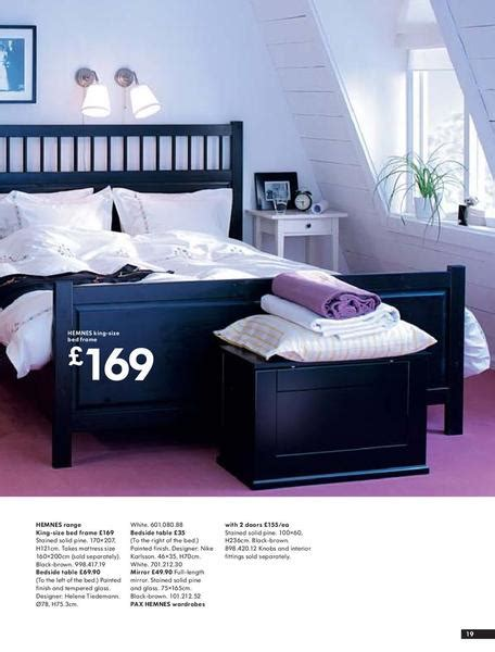 hemnes bedroom hemnes bedroom black bed light bedding and white side