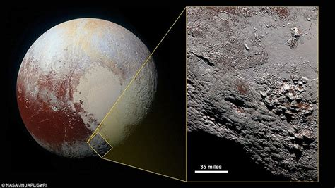 new images of pluto nasa reveals pluto images taken from new horizons