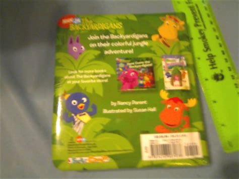 Backyardigans Jungle Colors Nick Jr The Backyardigans Jungle Colors 2006 Book By