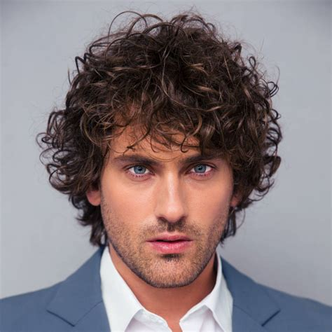 hairstyles for 40 modern men s hairstyles for curly hair that will