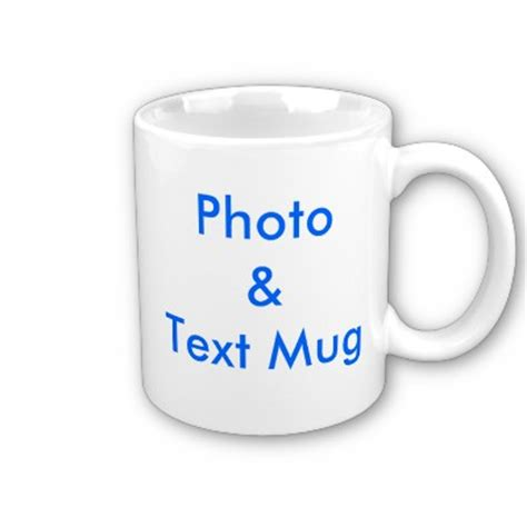 personalised photo text message mug