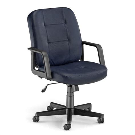 navy office chair lo back executive leather office chair in navy 505 l navy